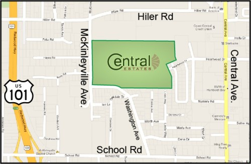 Map - Central Estates Location